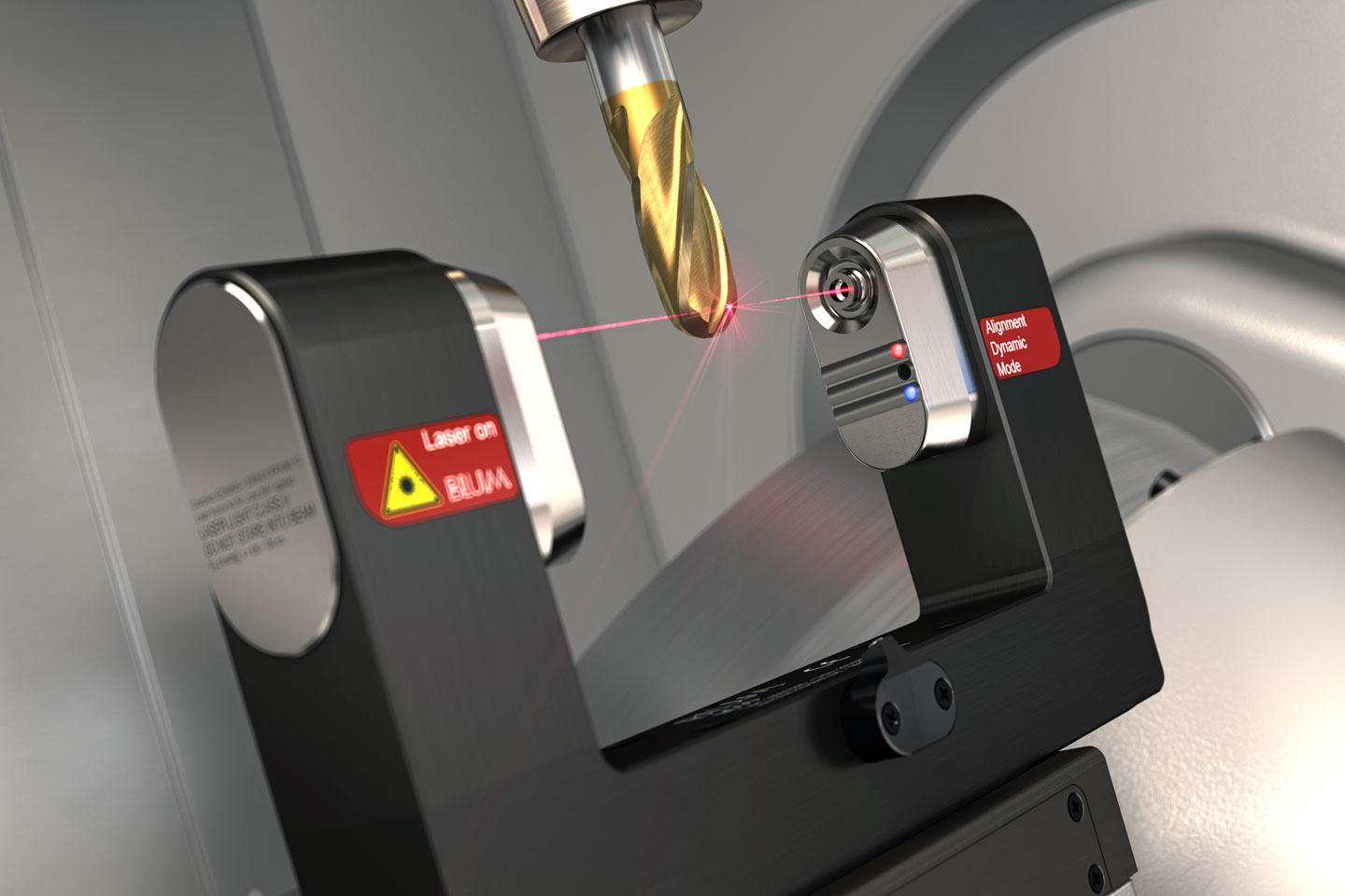 BLUM laser measuring systems for CNC machining centres