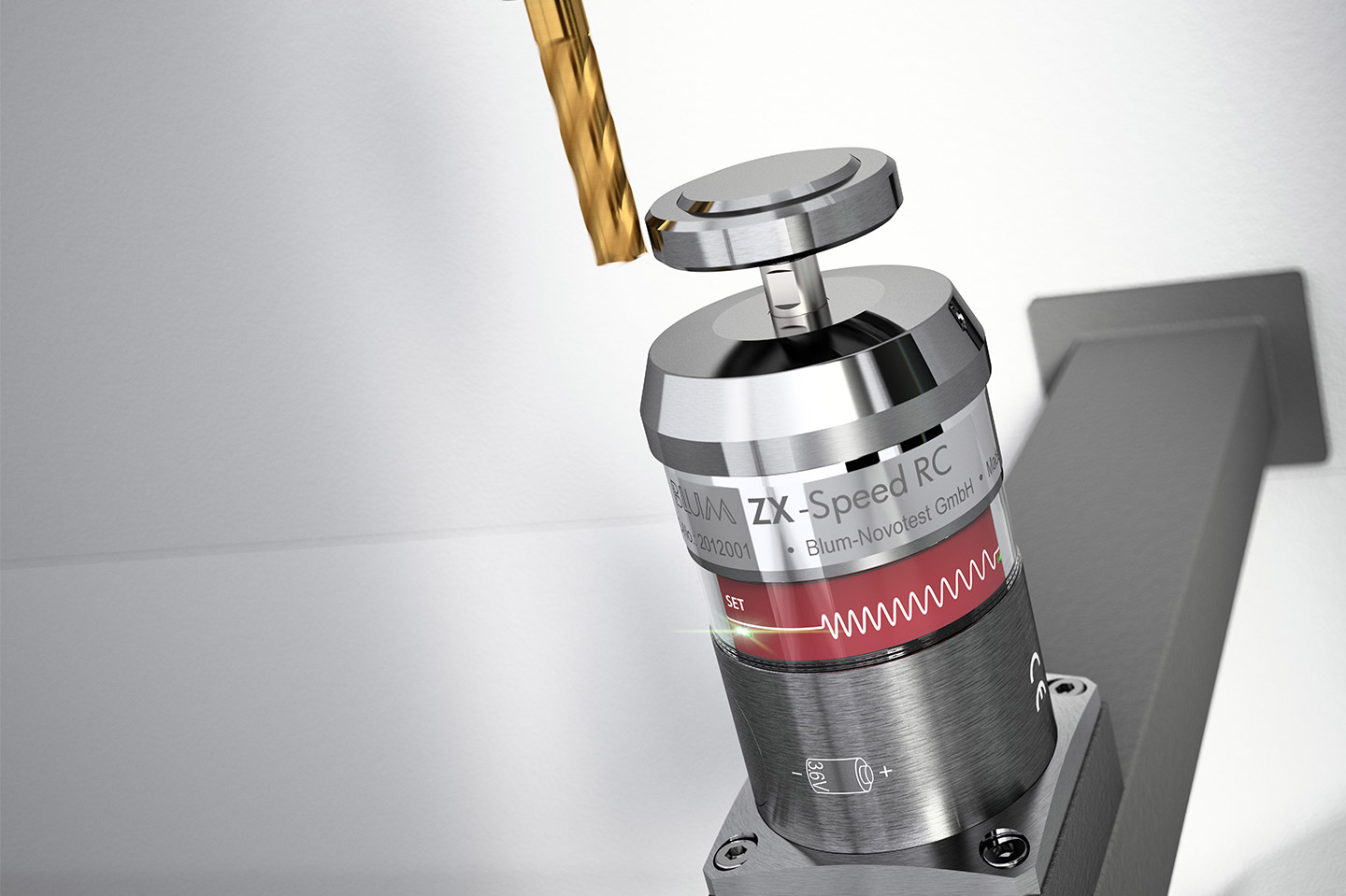 BLUM tool measuring probe for workpiece measurement and tool