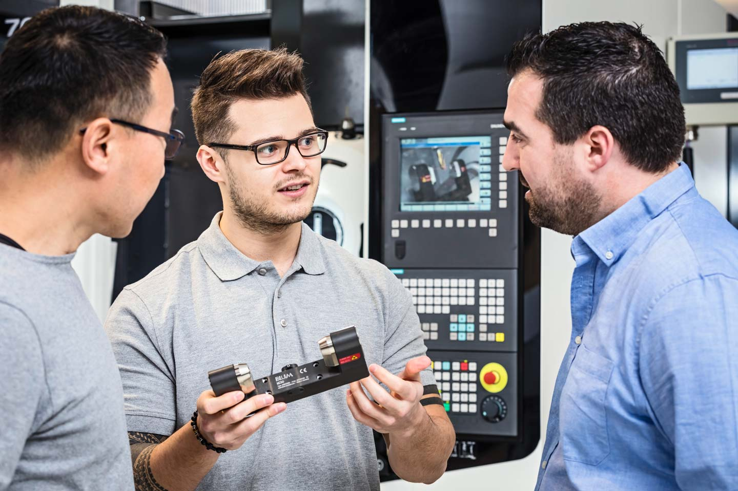Workshops and training courses at the Blum-Novotest Employee and Customer Centre