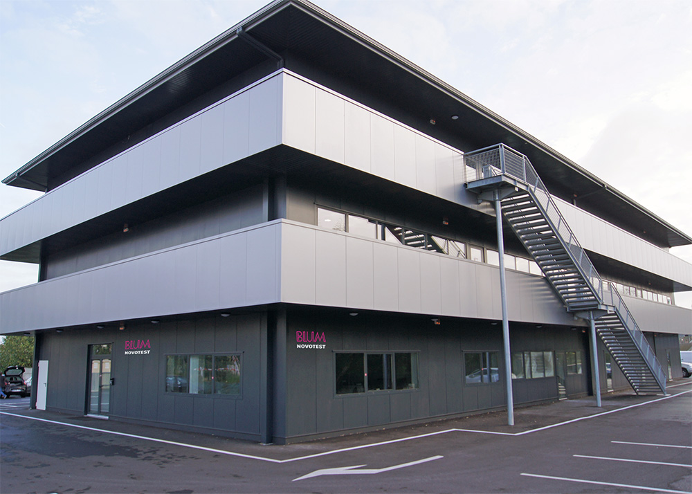 Blum-Novotest subsidiary building in France