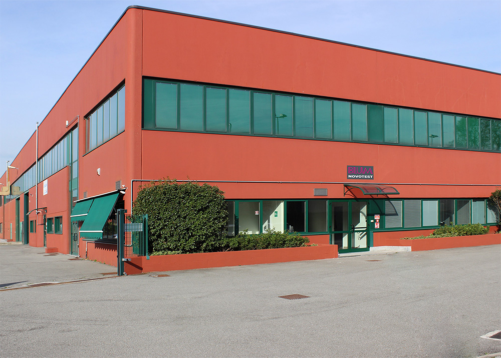 Blum-Novotest subsidiary building in Italy